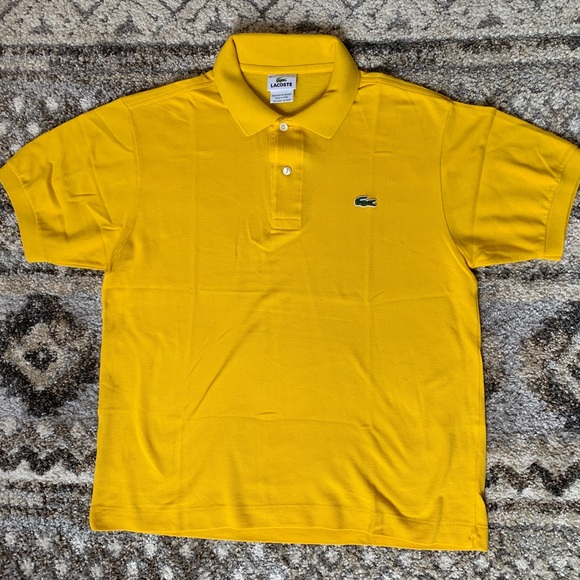 Lacoste Other - Lacoste Yellow Standard Fit Polo 4